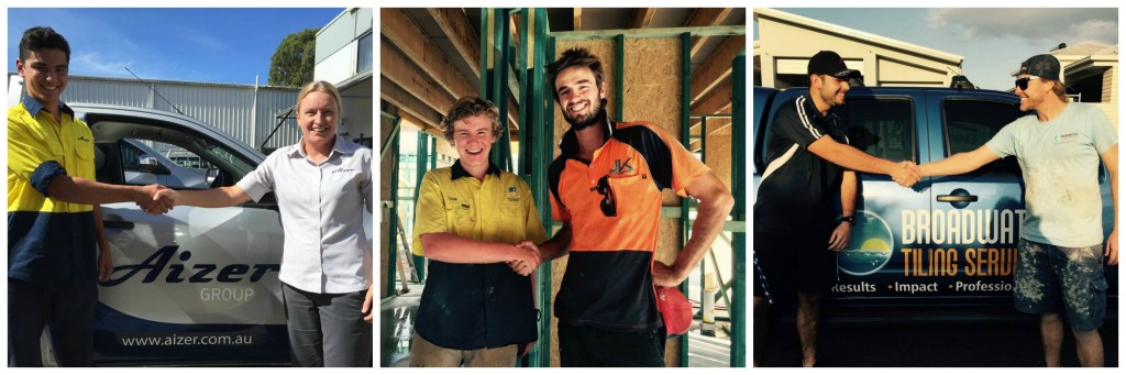 New Apprentices signed up!